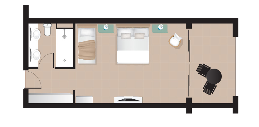 Marron-Room-Side-Sea-View-Floorplan